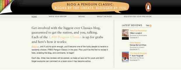 Penguin Classics blog