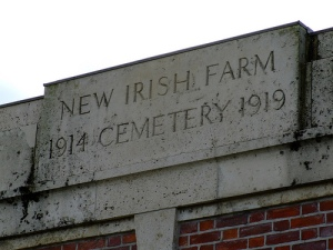 The New Irish Farm World War One Cemetery