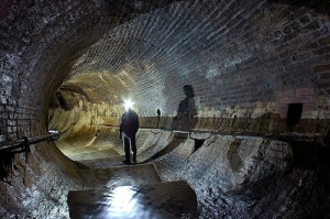 Lovely corner in the Fleet Sewer. (Image with thanks to Flickr User: Mr. J Doe)