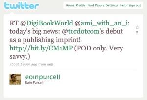 The Tor.com Tweet