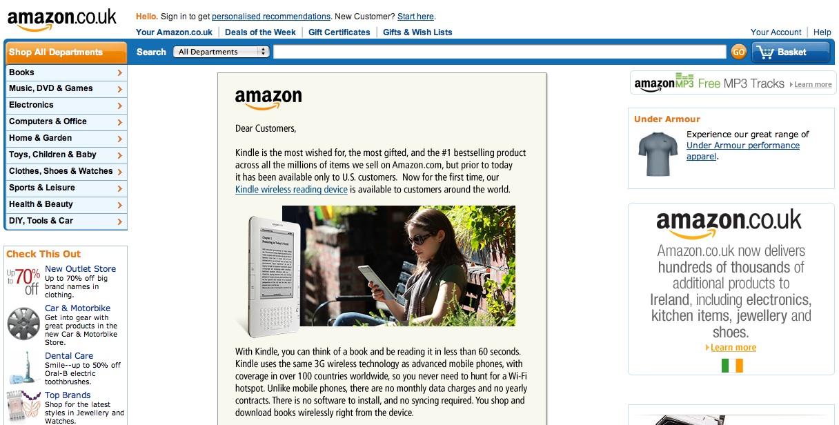 Kindle international shipping : Brooks brothers miami