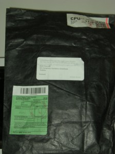 a strange packet