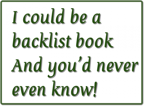 On The Internet, Nobody Knows You're A .... Backlist Book