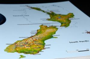 New Zealand Map